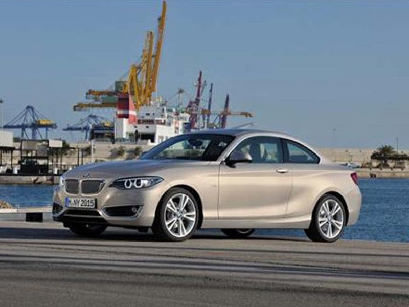 New BMW 2-series coupe revealed