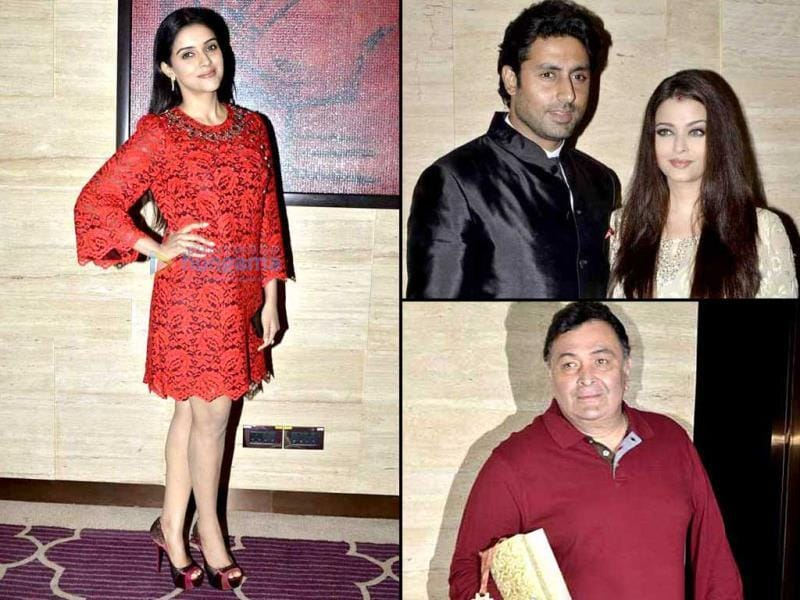 B-Town was in full attendance at Asin's birthday bash. Amitabh Bachchan, Aishwarya Rai, Rishi Kapoor, Jacqueline Fernandez and many others attended the party.