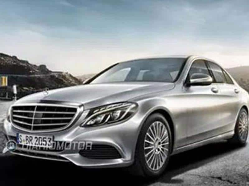 New 2014 Mercedes C-class pictures leaked
