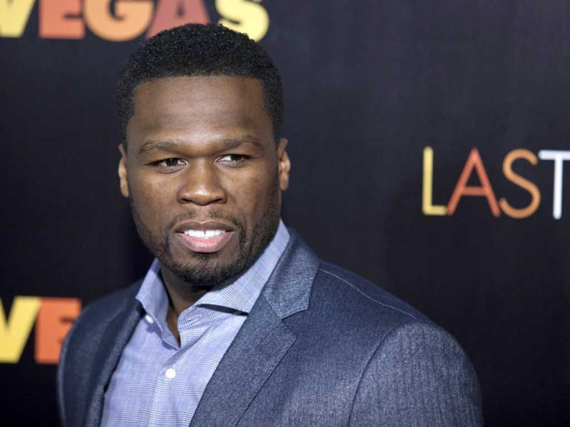 Actor and musician 50 Cent attends the premiere of the movie Last Vegas in New York. (Reuters Photo)