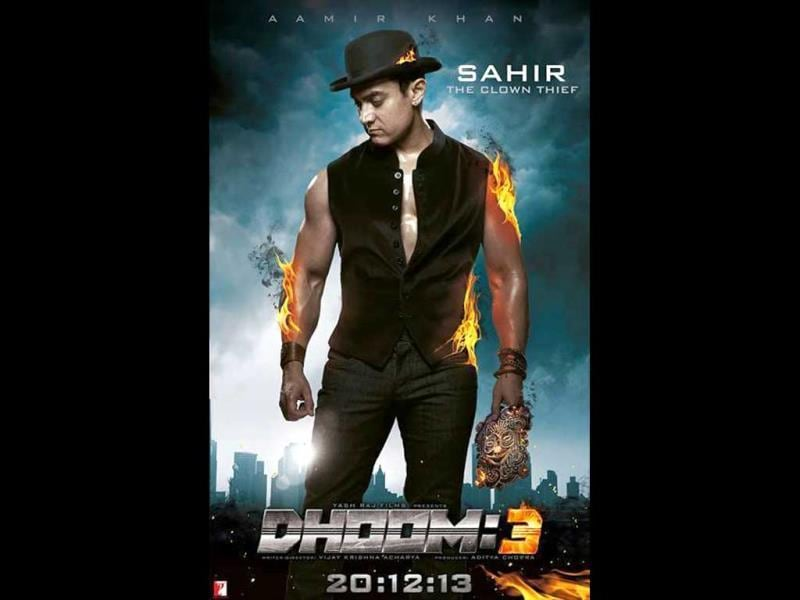 Aamir Khan plays Sahir, the car thief.