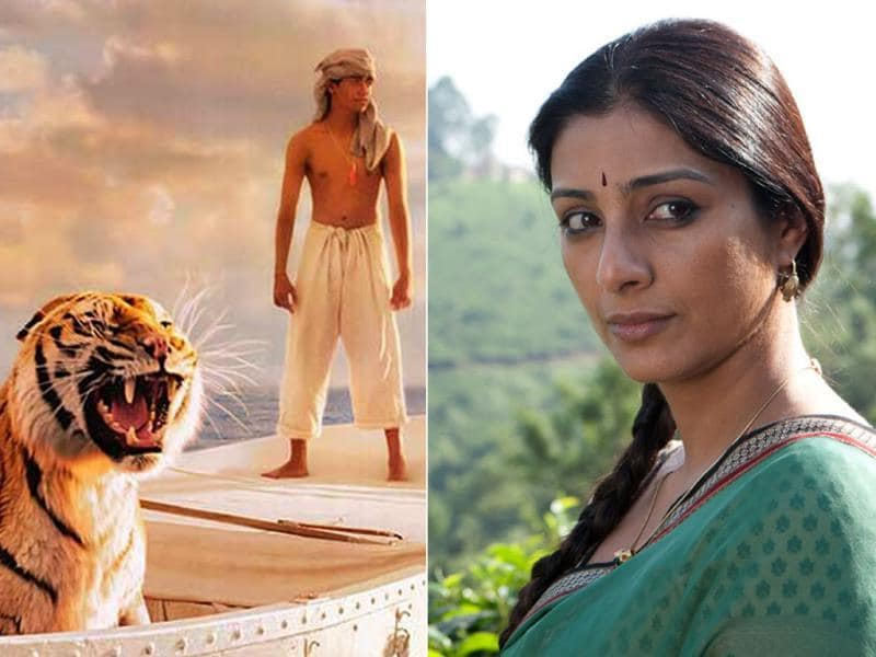 Though it was Ang Lee, Suraj Sharma and Richard Parker who dominated the film, Tabu as the mother of young Pi made for a compulsive viewing.
