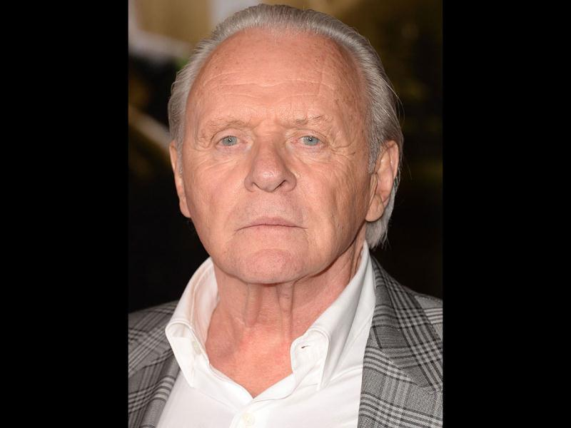 Actor Anthony Hopkins arrives at the premiere of Marvel's 'Thor: The Dark World' at the El Capitan Theatre in Hollywood, California. (AFP Photo)