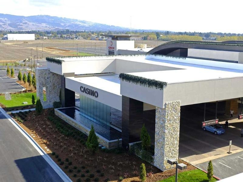 The Graton Resort and Casino is set to open in California's wine country, the culmination of years of planning and legal battles. (AP Photo)