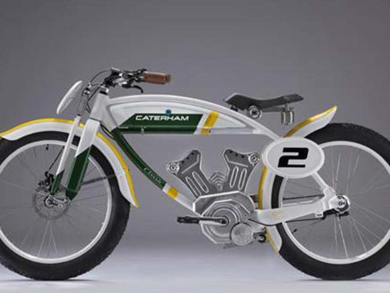 Caterham to now make bikes