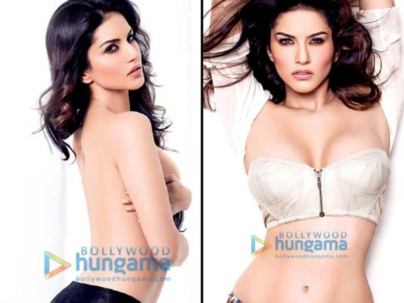 Sunny Leone and Maxim magazine team up for a steamy cover shoot for the magazine's November issue. The former porn star goes topless for one of the pictures. Check out the stills.