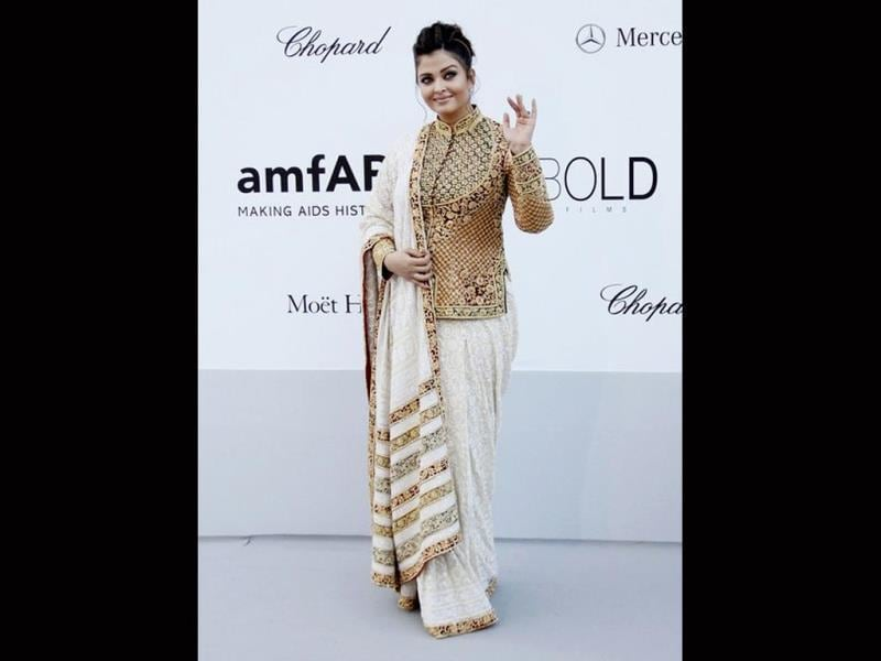 Aishwarya Rai Bachchan is not new to amFAR. She attended the organisation's gala event which was held at the Cannes film festival last year.