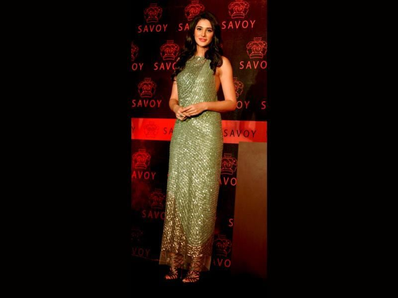 Standing tall: Nargis has been applauded much for her role in Madras Cafe.