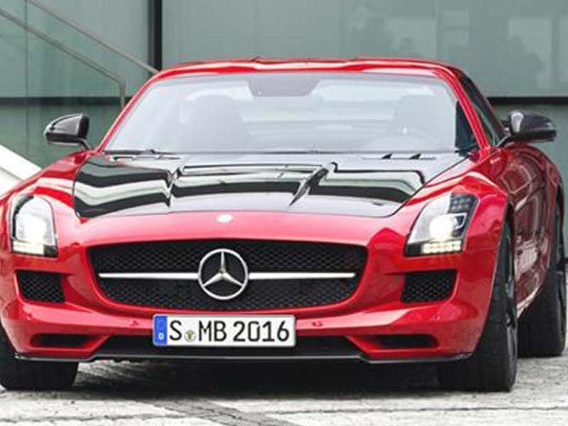 Mercedes-Benz SLS AMG GT Final Edition uncovered