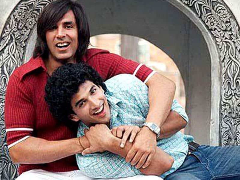Kapur played Akshay Kumar and Aishwarya's son in time-travel flick Action Replay.