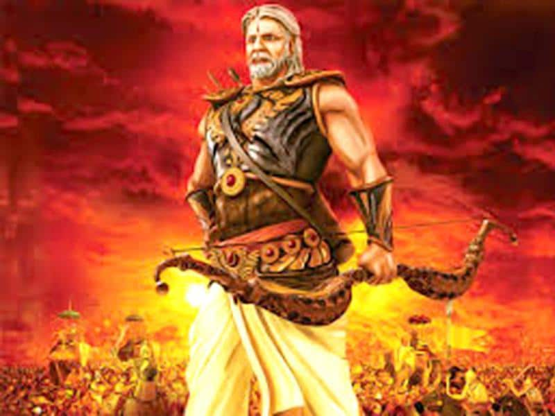 Amitabh Bachchan is our own Bheeshma Pitamah in Mahabharat 3D.