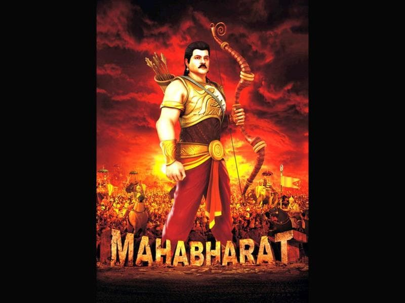 Karna will look and sound like Anil Kapoor in Jayantilal Gada's animated Mahabharat.