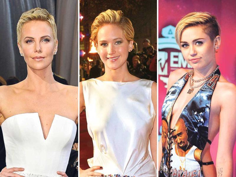 The pixie cut seems to be Hollywood's latest hair obsession. Notice how a number of divas have chopped off their manes to sport the shorter and, maybe, hotter hairdo? Here are a few who have said good bye to their flowing tresses for a neat pixie.