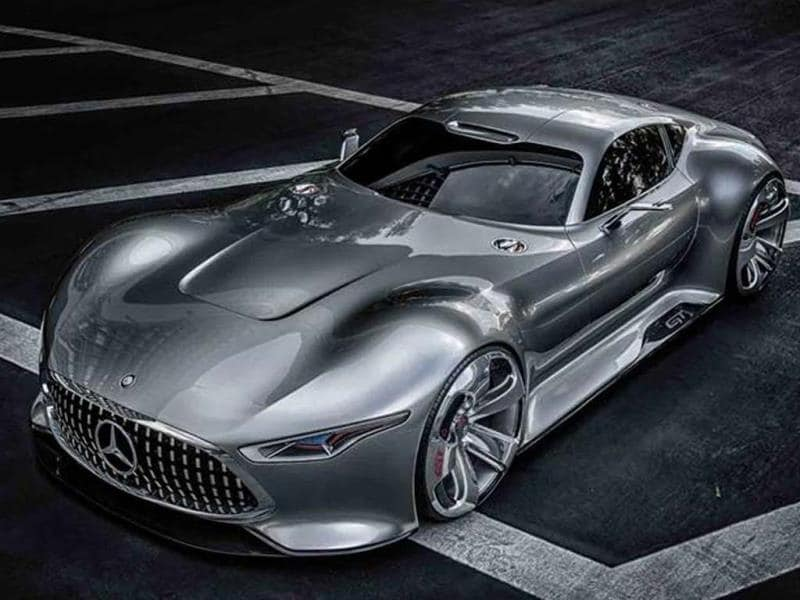 Mercedes AMG Vision Gran Turismo concept photo gallery