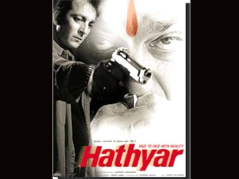 Hathiyar (2002): Post the success of Vaastav, Sanjay Dutt once again grabbed a 'hathiyar' as Raghu's son Rohit in the sequel. The film was directed by Mahesh Manjrekar.