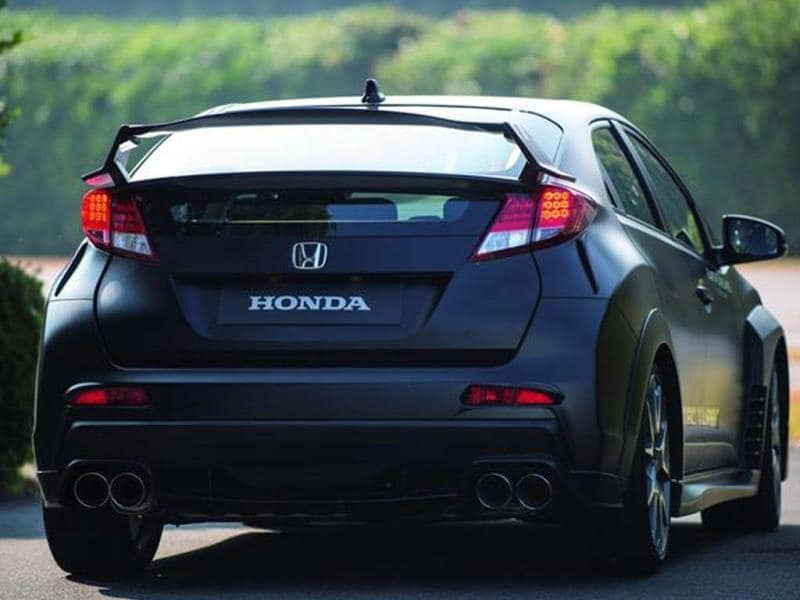 Honda Civic Type R prototype photo gallery