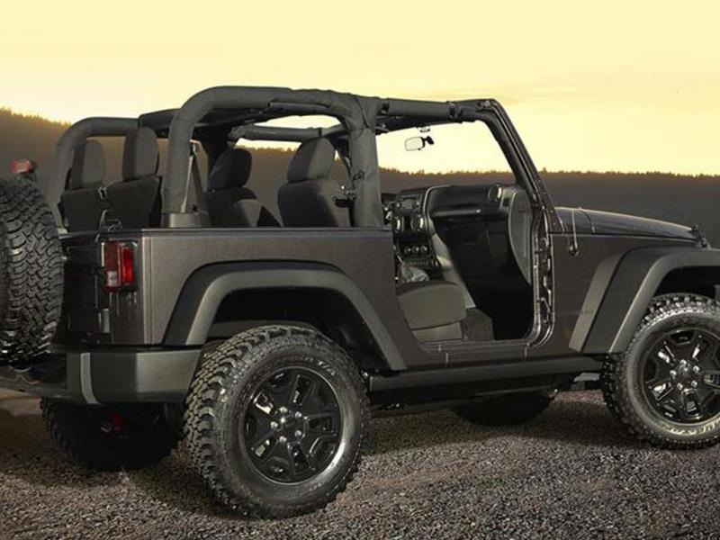 New Wrangler Willys Wheeler Edition photo gallery