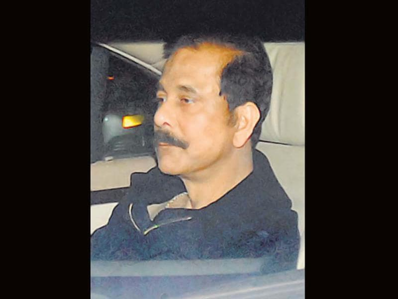 Subrata Roy was also there at the event.
