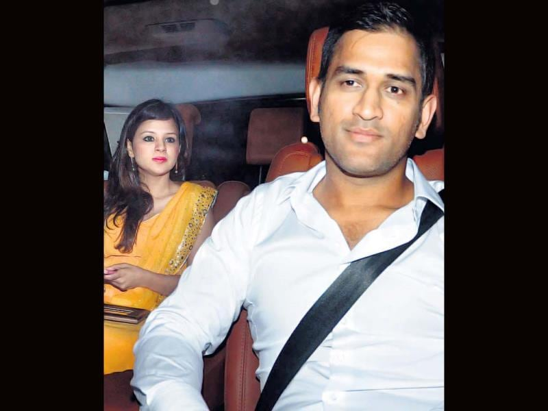 Sakshi and MS Dhoni were also spotted at the do.