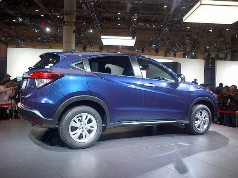new honda vezel compact suv photo gallery autos photos hindustan times. Black Bedroom Furniture Sets. Home Design Ideas