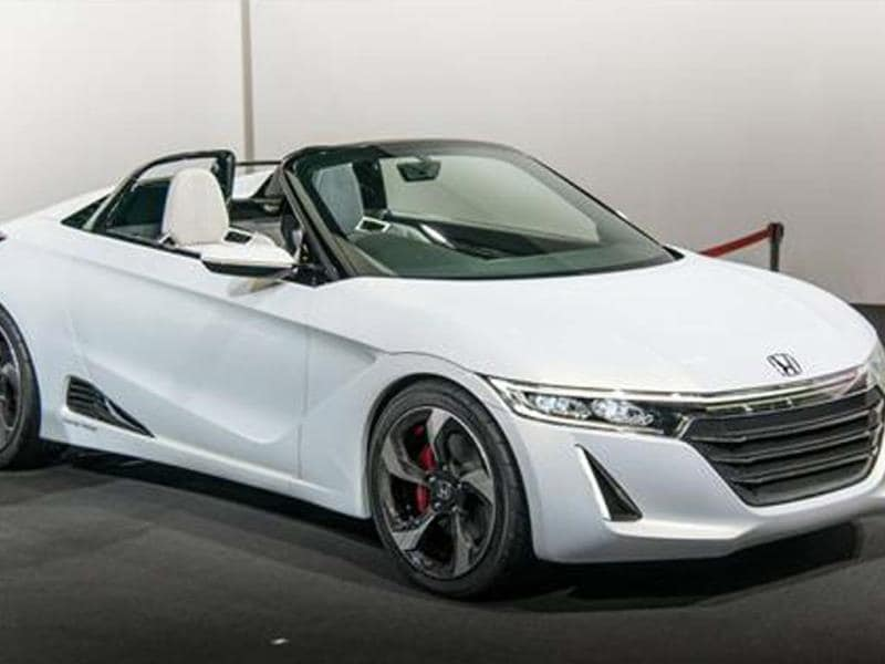 New Honda Beat S660 concept unveiled