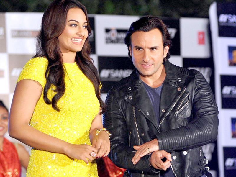 Raja-Rani: Saif, Sonakshi make quite a pair.
