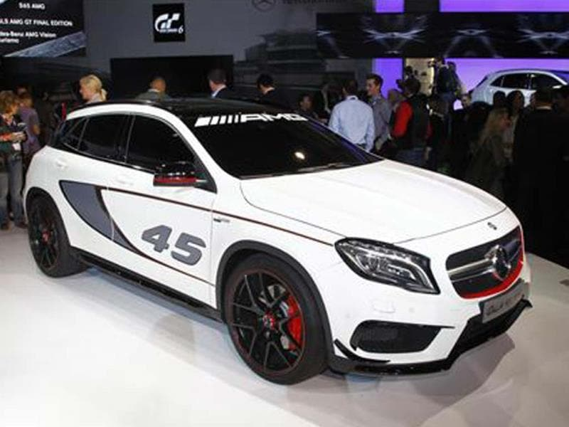 Mercedes GLA 45 AMG SUV concept unveiled