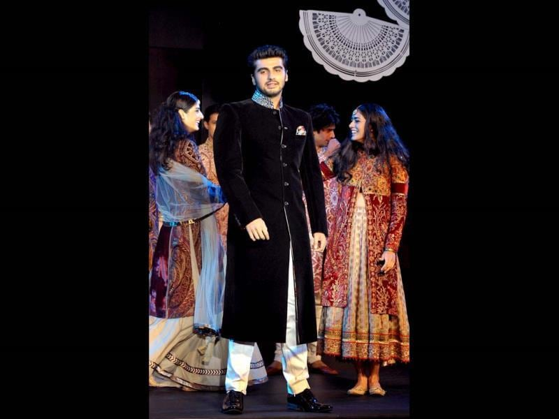 Arjun Kapoor in JJ Valaya. (AFP Photo)