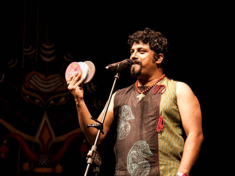 The Raghu Dixit Project at The Dewarists (Photo credit: Shalaka Pai)