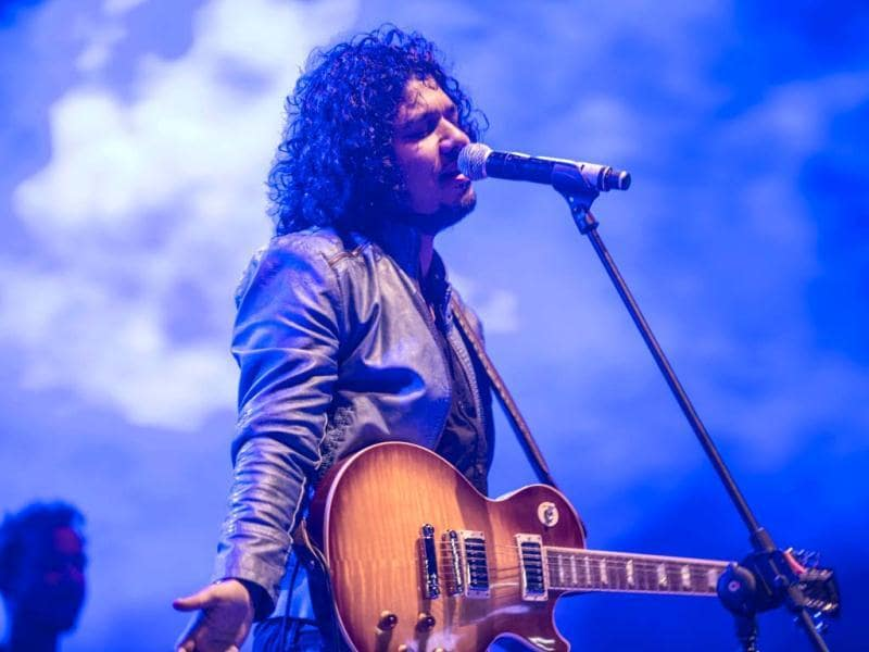 Papon and The East India Company at their soulful best at the Bacardi Arena (Photo credit: Danish RD)