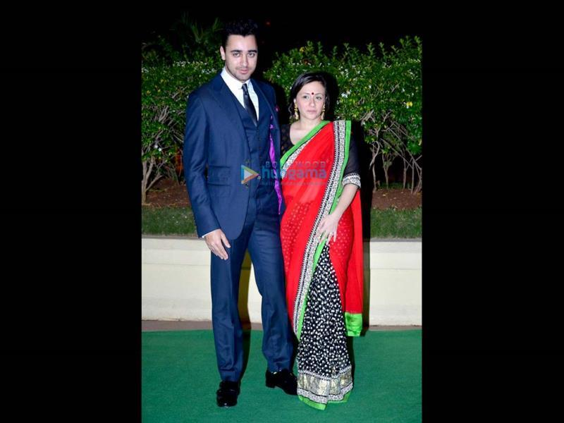 Imran Khan turned up with his wife Avantika Malik.
