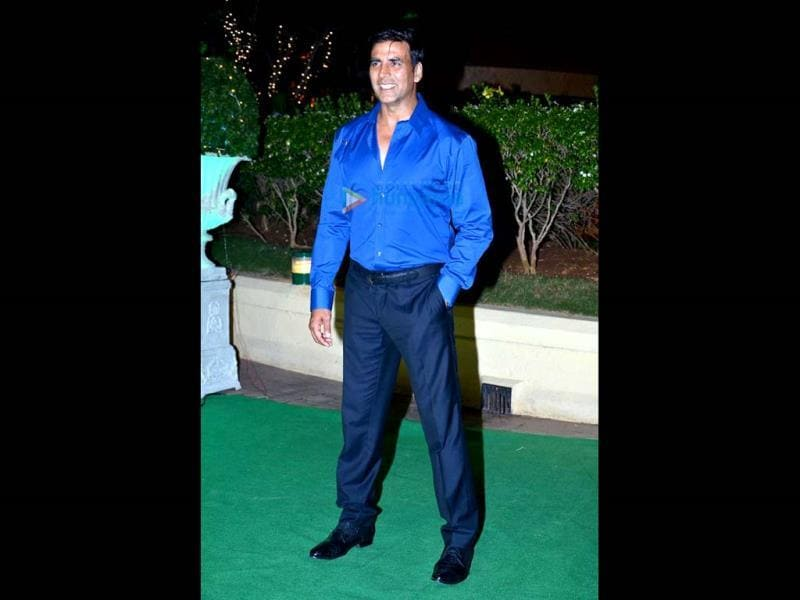 Akshay Kumar also made his presence felt at the function.