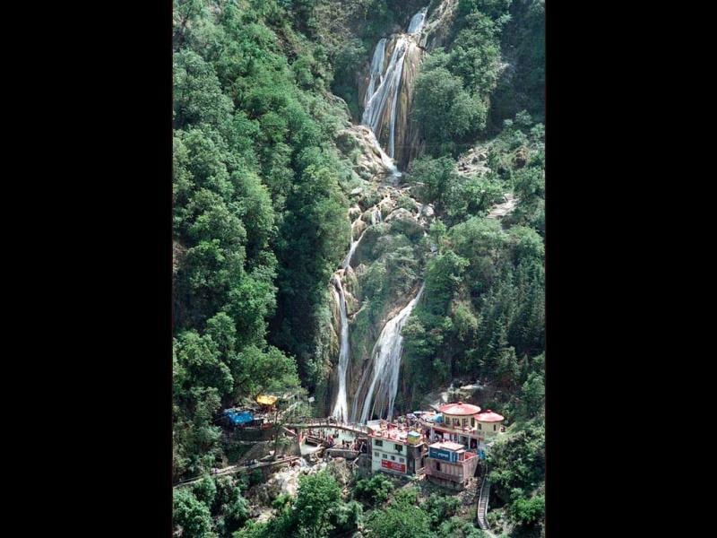 Kempty Fall at Mussoorie. (Photo by S. Burmaula)