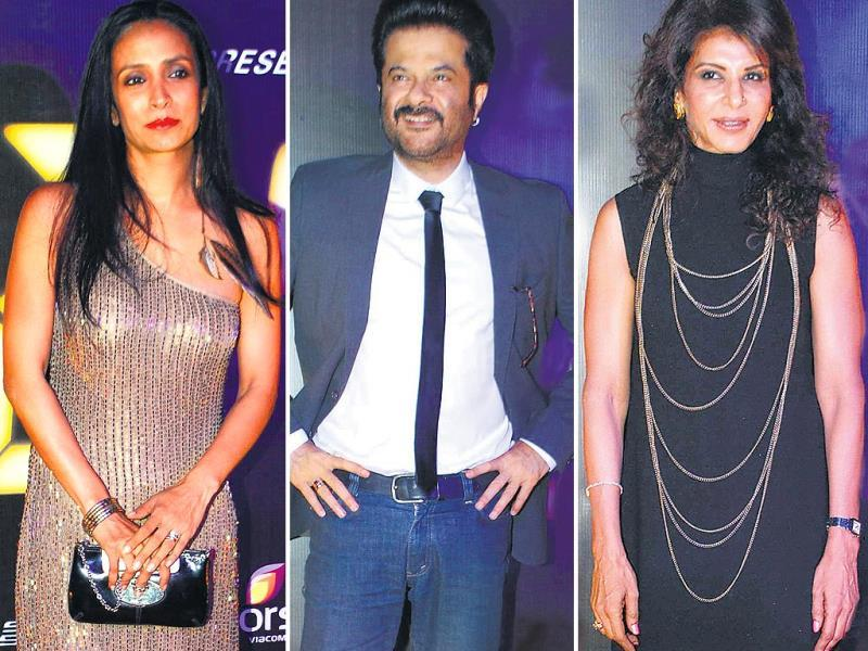 The cast members of Anil Kapoor's crime series, 24, were seen enjoying themselves at the show's success bash held in Mumbai. The three Kapoor brothers — Anil, Sanjay and Boney — were spotted together after a long time.