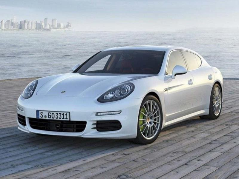 The Porsche Panamera S E-Hybrid. Photo:AFP