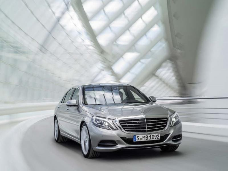 Mercedes-Benz Classe S 400 Hybrid. Photo:AFP