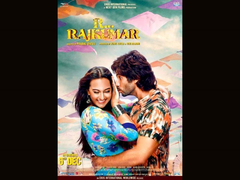 Shahid Kapoor and Sonakshi Sinha pair up for the first time in Prabhu Deva's R... Rajkumar (earlier titled Rambo Rajkumar). Their chemistry is to watch out for. Check out the stills.