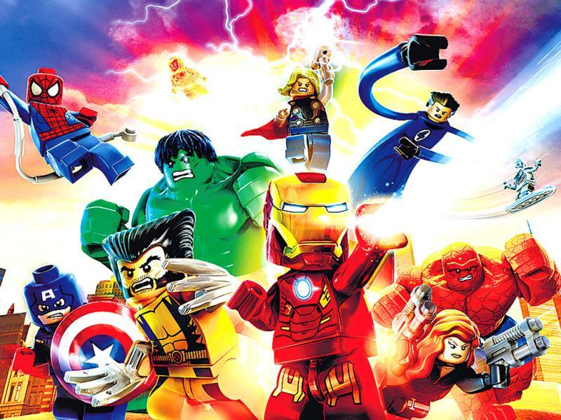 Lego Marvel Super HeroesThe only thing better than a classic block-building Lego game is one that features superheroes and supervillains, and alternates between action-adventure sequences and puzzle-solving scenarios.