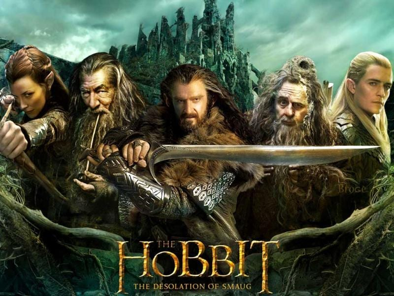 The Desolation of Smaug (Benedict Cumberbatch) is the second installment of The Hobbit trilogy.