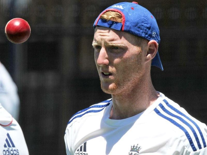 England cricketer Ben Stokes prepares to bowl in the nets duing a training session on the eve of the third Ashes cricket Test between England and Australia in Perth. (AFP PHOTO)