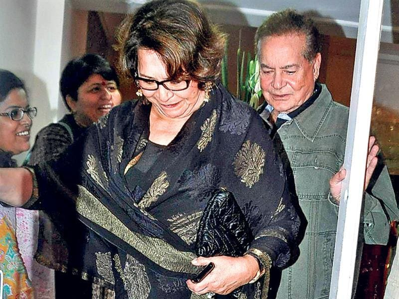 Helen came in with Salim Khan.