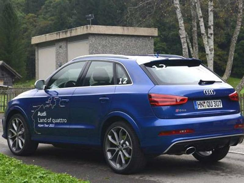 Driving the New Audi RS Q3