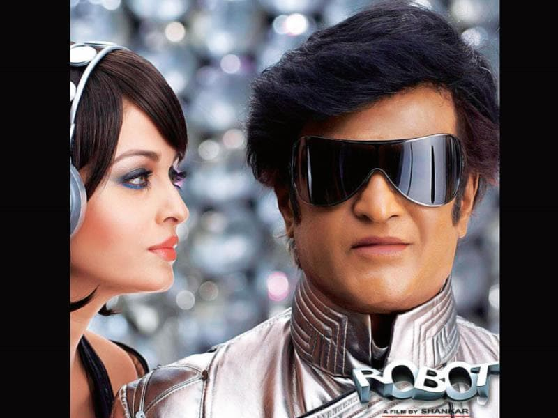 Enthiran (2010): A science fiction action film co-written and directed by Shankar, the film features Rajinikanth in double role, as a scientist and an andro humanoid robot, alongside Aishwarya Rai.