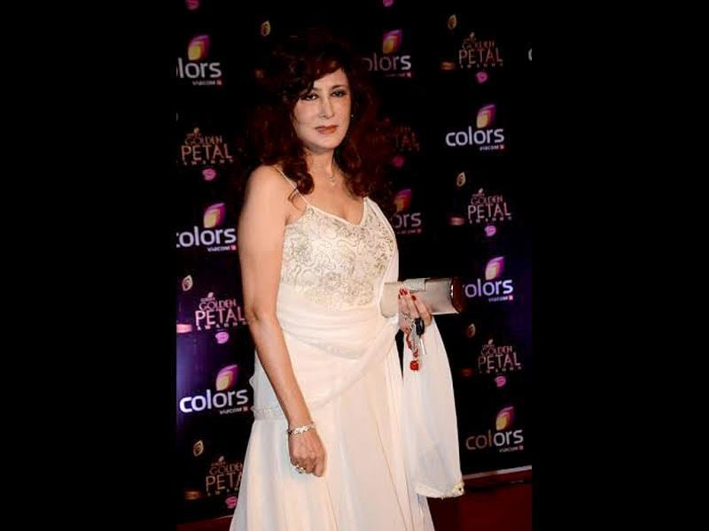 Ex-Bigg Boss contestant Anita Advani was also spotted at Colors Golden Petal Awards 2013.