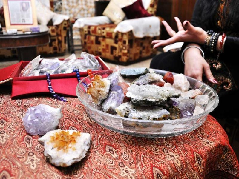 Divya Khanna is a crystal healer. Crystals are mainly used when