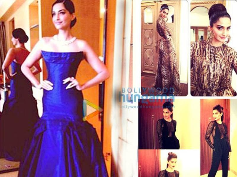 Fashionista Sonam is not only used to wearing the most stylish clothes but also likes to strike a pose in those trendy avatars. While the babe manages to pull off all her attires with lots of oomph and grace, it can be a tad boring to be informed about every new outfit she shopped.