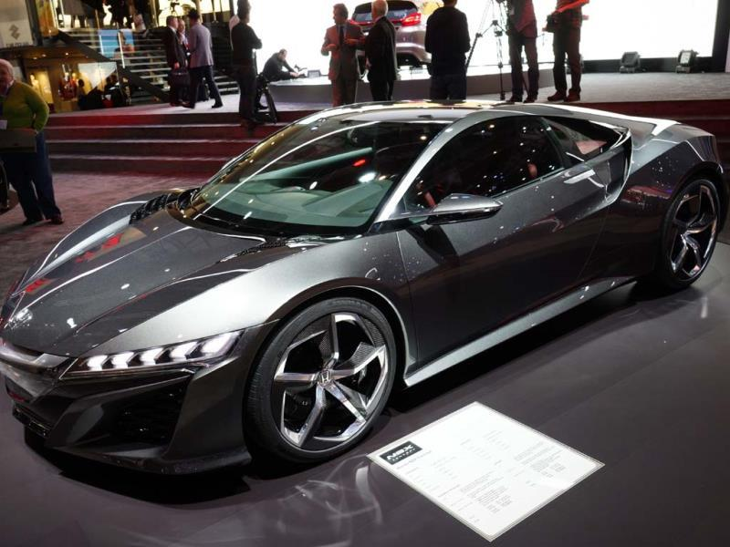 Will the Honda Acura NSX be Japan's first hybrid supercar?. Photo:AFP