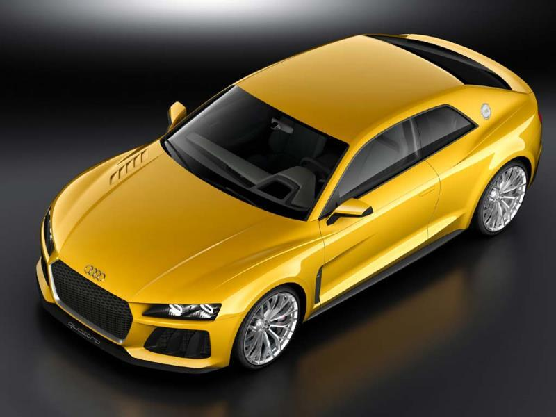 Is Audi's Sport Quattro concept heading for production?. Photo:AFP