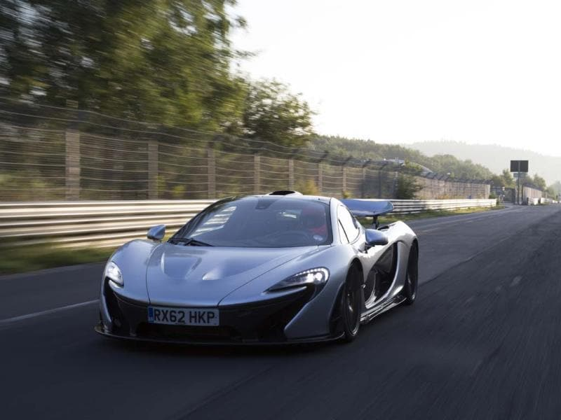 The McLaren P1 - sold out. Photo:AFP