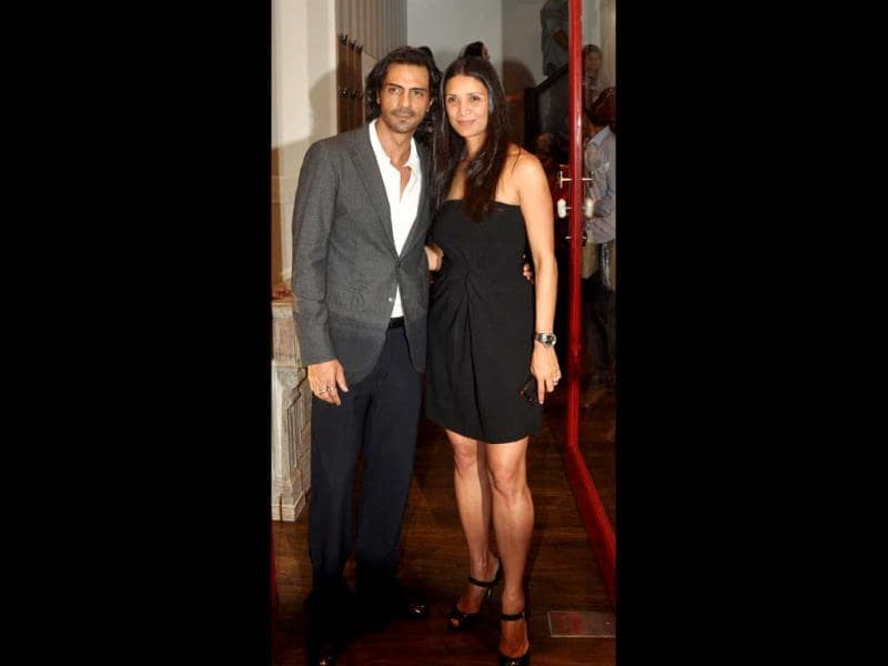 Arjun Rampal and Mehr Jessia also came on Sussanne's invitation